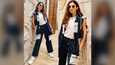 Gauahar Khan's Athleisure Airport Style Is Cool and Chic, All Together!