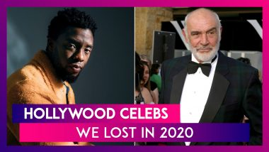 Chadwick Boseman, Kirk Douglas, Sean Connery & Other Hollywood Celebs We Lost In 2020