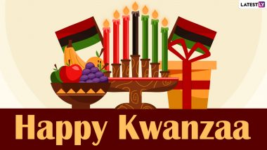 Kwanzaa 2020 Wishes and Messages: WhatsApp Stickers, GIFs, Holiday Greetings, HD Images, Facebook Photos and Insta Posts to Share on the First Night of Kwanzaa