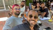 Hardik Pandya Enjoys 'Beautiful Sunny' Morning With Virat Kohli & Others Ahead of India vs Australia 1st T20I 2020 (View Pic)