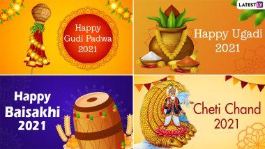 Hindu New Year's Days 2021 Dates Across Different Regions of India: Know Chaitra Shukla Pratipada Tithi, Gudi Padwa, Ugadi, Baisakhi, Puthandu & Other Observances As Per Hindu Lunisolar Calendar