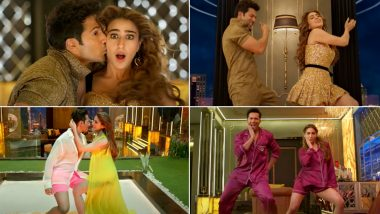 Coolie No 1 Song Husnn Hai Suhaana: Varun Dhawan and Sara Ali Khan Burn The Dance Floor With Their Killer Moves In This New Version! (Watch Video)