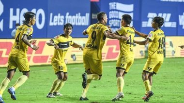 Kerala Blasters FC vs Hyderabad FC, ISL 2020–21 Live Streaming on Disney+Hotstar: Watch Free Telecast of KBFC vs HFC in Indian Super League 7 on TV and Online