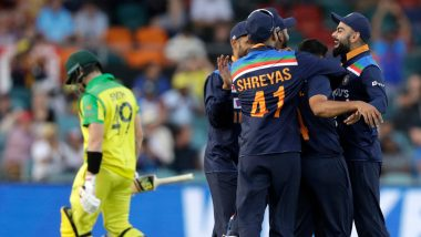 India vs Australia Stat Highlights 3rd ODI 2020: Virat Kohli's 12k Feat and Other Stats