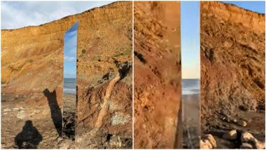 Another Day, Another Monolith! Fourth Structure Spotted in UK's Isle of Wight Similar to The One in Utah and Romania, Watch Pics and Video As You Check on Alien Conspiracy Theories