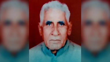 Jagram Yadav, Freedom Fighter and Gunner of Netaji Subhas Chandra Bose, Dies at 97 in Gurugram
