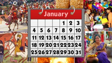 January 2021 Holidays Calendar With Festivals & Events: Lohri, Makar Sankranti, Republic Day, Guru Gobind Singh Jayanti; Know All Important Dates and List of Fasts for the Month