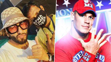 'O Pata Nahi Ji Konsa Nasha Karta Hai' Writes, John Cena Sharing Ranveer Singh Pic With Fan, Gully Boy Actor Replies 'Kuch Bhi'