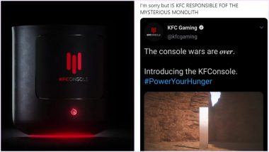 Was Monolith Mystery KFC's Marketing Strategy? Netizens Question After KFC Gaming Console With Chicken Warmer Ad Features The Utah Metal Structure (Check Tweets)