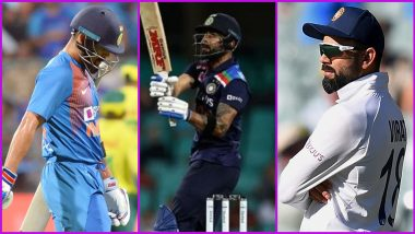 Year 2020 for Virat Kohli in Stats: No Century and Seven Half-Centuries Across Formats for Indian Cricket Team Captain
