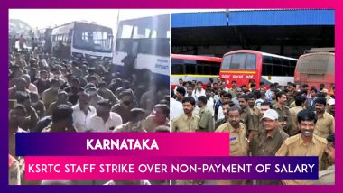 Karnataka: KSRTC Staff Strike Over Non-Payment Of Salary; CM BS Yediyurappa Appeals To Call Off Protest