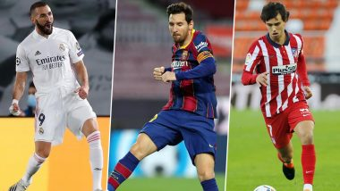 La Liga 2020-21 Best Forwards: Lionel Messi, Karim Benzema and Other Top Strikers in Spain's Top Division Football League This Season