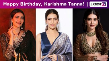Karishma Tanna Birthday Special: She Acts Like Summer, Walks Like Rain, With a Style That Is Simple, Kinda Girly but With a Bit of an Edge!