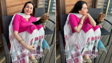 Karisma Kapoor Delights With Her Pinkalicious Ethnic Mood!