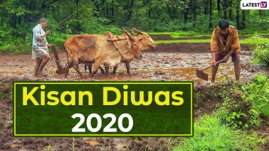 Kisan Diwas 2020 Greetings: Wishes, WhatsApp Messages, HD Images, Quotes, SMS, Greetings to Celebrate National Farmers' Day in India