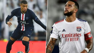 Ligue 1 2020-21 Best Forwards: Kylian Mbappe, Memphis Depay and Other Top Strikers in France's Top Division Football League This Season