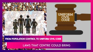 Look-Ahead 2021: From Population Control to Uniform Civil Code, Laws That Centre Could Bring