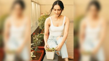 Manushi Chhillar Wishes to Have a Fully Sustainable Garden at Home (View Post)