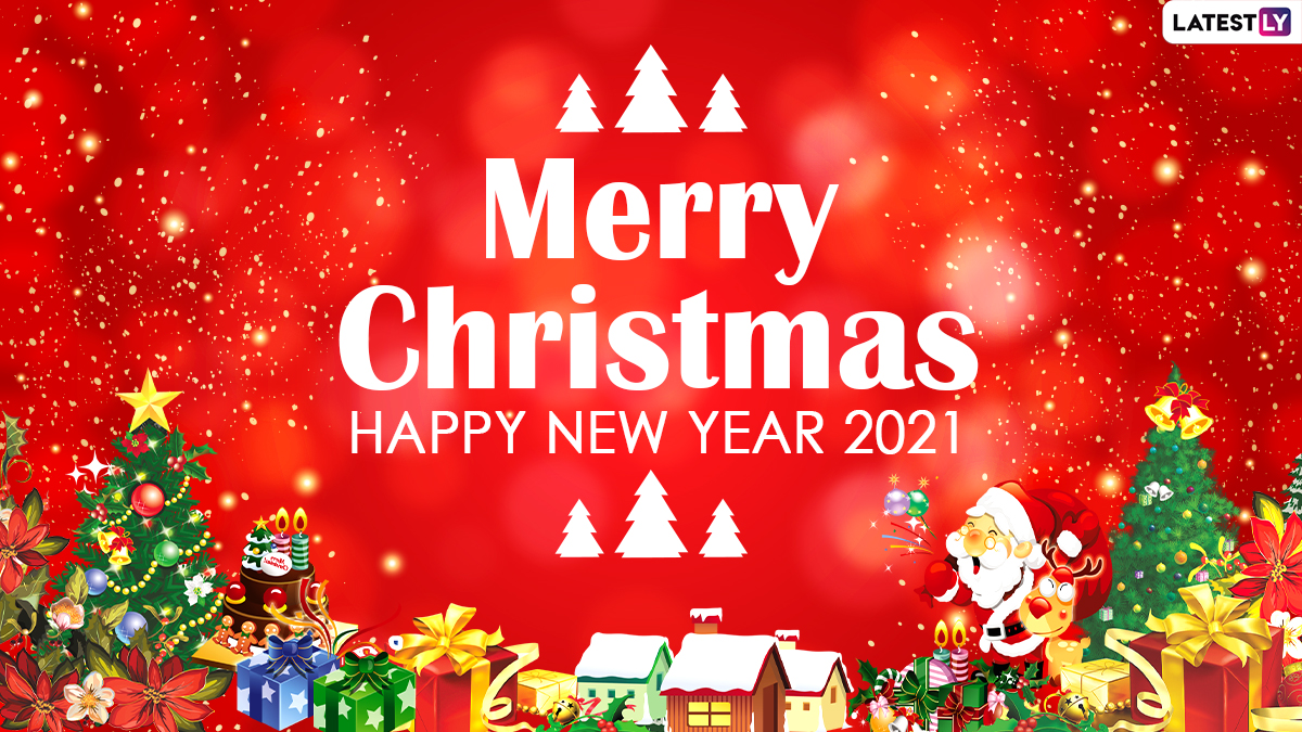 2021 Christmas Events Festivals Events News Merry Christmas And Happy New Year 2021 Whatsapp Stickers Gif Greetings Quotes Hd Photo Messages Latestly