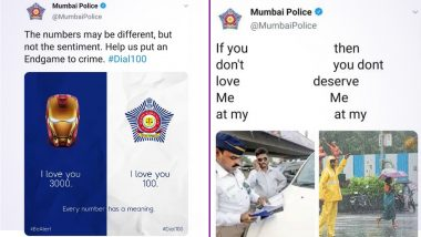 Mumbai Police Makes Video of Their Best Tweets Celebrating Their 5 Years of Twitter and It's Quiet Meme-orable!