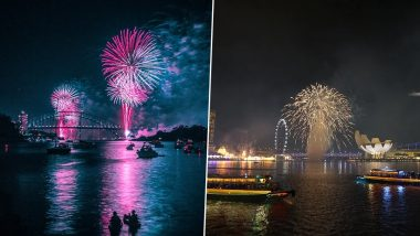 New Year's Eve 2020 Fireworks Around The World: From Sydney, New York, London, Dubai and Singapore, How Major Cities Will Welcome 2021 Amid COVID-19 Restrictions
