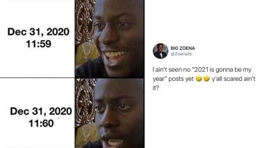 Happy New Years' Eve 2020 Funny Memes & Jokes:Ready For New Year Resolutions? Hilarious Reactions on NYE That Will Make You Say 'It Me'