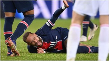 Neymar Injury Latest Update: PSG Star to Miss the Game Against Barcelona on February 17 Due to Adductor Muscle Injury