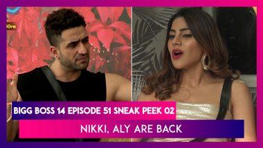 Bigg Boss 14 Episode 51 Sneak Peek 02   Dec 11 2020: Nikki Tamboli, Aly Goni are Back