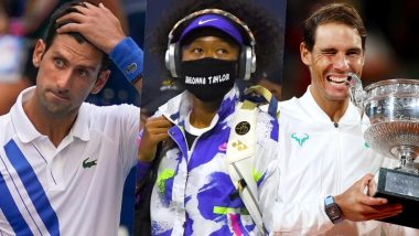 Year Ender 2020: Novak Djokovic's Moment of Madness, Naomi Osaka's Silent Fight Against Racial Injustice and Other Top Tennis Moments From This Season