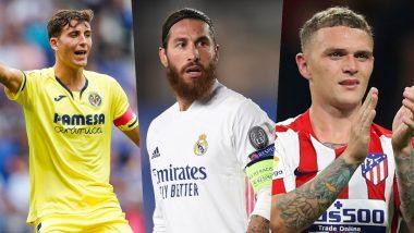 La Liga 2020–21 Best Defenders: Sergio Ramos, Kieran Trippier, Pau Torres and Other Top Defenders in Spain's Top Division Football League This Season