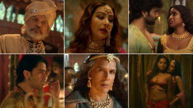 Paurashpur Teaser: Shilpa Shinde, Milind Soman, Shaheer Sheikh's Sex-Fuelled AltBalaji Series Will Navigate the Battle of Genders In Bygone Era (Watch Video)