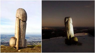 Forget Utah Monolith, Now a Penis-Shaped Landmark From German Mountain Disappears From The Face of The Earth! (See Pics)