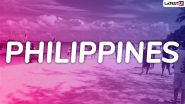 Philippines Extends Travel Ban on India Till June 30 to Prevent the Spread of Delta COVID-19 Variant