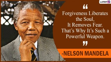 Day of Reconciliation 2020 Quotes by Nelson Mandela: Thoughts by South African Anti-Apartheid Revolutionary to Share on the Observance