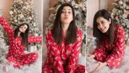 Raashi Khanna's Gingerbread Red Pyjama Set Is Chic AF and Affordable Too!