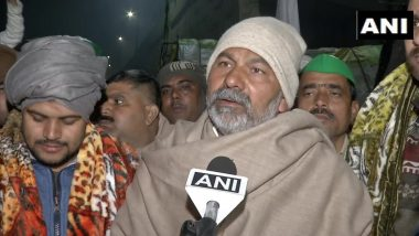 UP Police Has Come To Arrest the Agitating Farmers at Ghazipur Protest Site, Says BKU Leader Rakesh Tikait