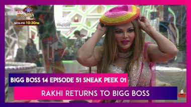 Bigg Boss 14 Episode 51 Sneak Peek 01   Dec 11 2020: Rakhi Returns to Bigg Boss After 13 Years