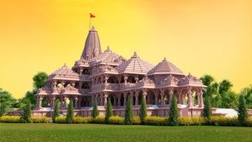 Ram Mandir Construction in Ayodhya: Water From 115 Countries To Be Offered, Rajnath Singh Says It Replicates Message of 'Vasudhaiva Kutumbakam'