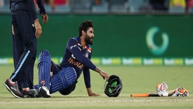 Ravindra Jadeja Ruled Out of T20I Series vs Australia After Suffering Concussion, Shardul Thakur Replaces All-Rounder
