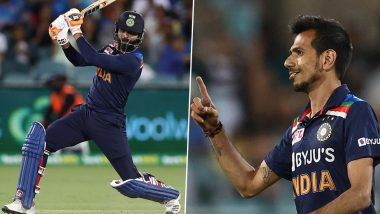 'Man of the Match Ravindra Chahal' Wasim Jaffer Shows Creative Side After Ravindra Jadeja, His Concussion Substitute Yuzvendra Chahal Help India Win Over Australia in 1st T20I