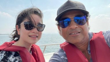 Sachin Tendulkar Shares Picture With Daughter Sara, Cracks Dad Joke in Caption (See Post)