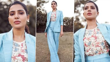 Samantha Akkineni's Sunshine Clouds and a Hint of a Rainbow Style Has Us Hooked!