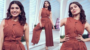 Samantha Akkineni Is Making a Compelling Case for Silken Chicness in a Printed Co-Ord Set!