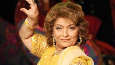 On Saroj Khan's First Death Anniversary, Bhushan Kumar Announces Biopic on Bollywood's Iconic Choreographer