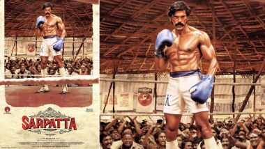 Sarpatta Parambarai: Arya as a Boxer Looks Fit and Fab in This Pa Ranjith's Sports Drama (View Poster)