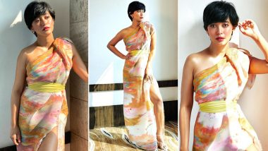 A Look at Sayani Gupta's Draped Georgette Gorgeousness!