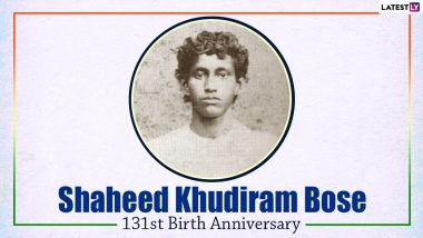 Shaheed Khudiram Bose 131st Birth Anniversary Quotes And HD Images: WhatsApp Messages, Wallpapers And Photos to Remember the Indian Freedom Fighter