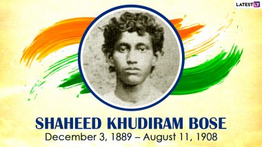 Shaheed Khudiram Bose 131st Birth Anniversary: Know Facts From the Life of One of the Youngest Martyrs of the Indian Independence Movement