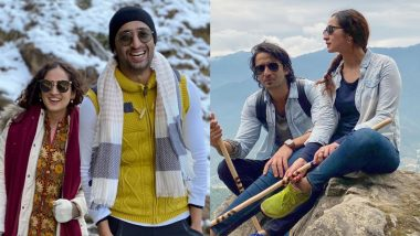 Newlyweds Shaheer Sheikh and Ruchikaa Kapoor Share Pictures From Their Honeymoon, Wish a 'Pappi New Year' to All!