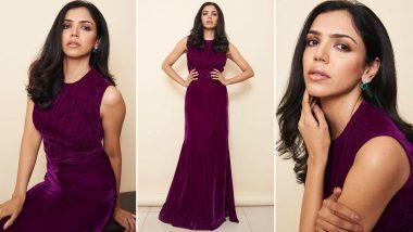 Shriya Pilgaonkar Dripping Elegance and Sophistication in a Magenta Gown!